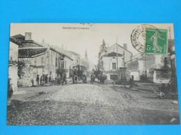 """47 ) Saint-sylvestre """" Construction De La Route """" Empierrement De La Route """"  -  Année 1913 - EDIT : - France"""