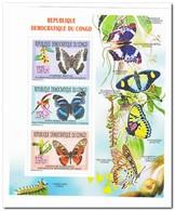 Congo 2011, Postfris MNH, Butterflies, Flowers, Orchids - Democratische Republiek Congo (1997 - ...)