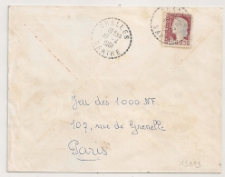 Cachet Tireté CHALLES Sarthe. - Postmark Collection (Covers)