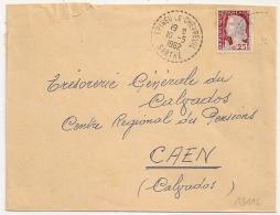 Cachet Tireté EPINEU LE CHEVREUIL Sarthe. - Postmark Collection (Covers)