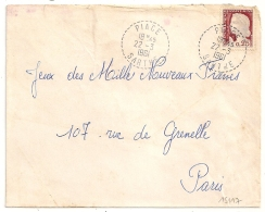Cachet Tireté PIACE Sarthe. - Postmark Collection (Covers)