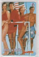 Télécarte - Carte  SEPA Telephonique : 1996 : Alerte A  Malibu , états  Unis  - France - Unclassified
