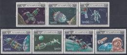 KAMPUCHEA 748-754,used - Space