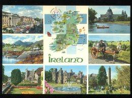 CPM Irlande Quelques Sites Touristiques Multi Vues - Other