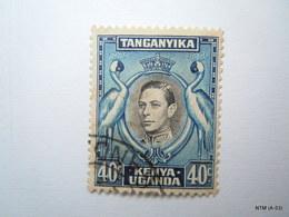 TANGANYIKA KENYA UGANDA 1938. 40c, King George VI; SG 143. Used. - Kenya, Uganda & Tanganyika