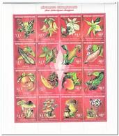 Centraal Afrika 1994, Postfris MNH, Flowers, Vegetables, Fruit, Mushrooms - Centraal-Afrikaanse Republiek