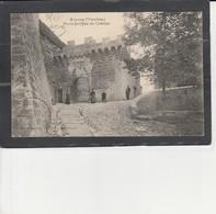 83 ANSOUIS - Porte Fortifiée Du Château - Ansouis