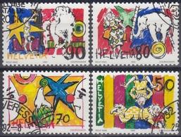 SUIZA 1992 Nº 1406/09 USADO - Suiza
