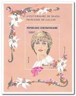 Centraal Afrika 1982, Postfris MNH, Flowers, Diana - Centraal-Afrikaanse Republiek
