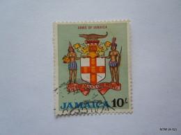 JAMAICA 1964, Arms Of Jamaica, 10s. Stamp. SG231. Used. X 4 Stamps - Jamaica (1962-...)