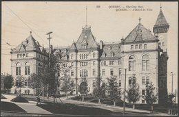 L'Hôtel De Ville, Québec Ville, Québec, C.1910 - CPA - Québec - La Cité