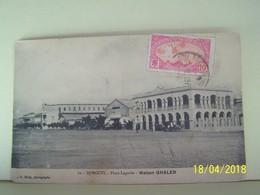 DJIBOUTI. PLACE LAGARDE. MAISON GHALEB. - Djibouti