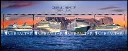 Gibraltar  2008   Yvertn° Bloc 89 *** MNH Cote 9 Euro Cruise Ships Bateaux Boten - Gibraltar