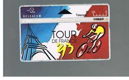 BELGIO (BELGIUM) -  1993 TOUR DE FRANCE, CYCLING            - USED - RIF. 10825 - Belgium