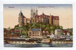 Meissen - Albrechtsburg Mit Domturme - Meissen