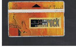 BELGIO (BELGIUM) -  1994  ONLINE WITH ROCK       - USED - RIF. 10827 - Belgium