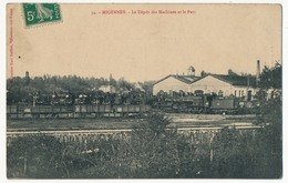 CPA - MIGENNES (Yonne) - Le Dépôt Des Machines Et Le Parc - Migennes