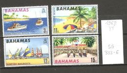 Bahamas, Année 1969, Tourisme, N° Yvert = 279-82, Neufs ** - Bahamas (1973-...)