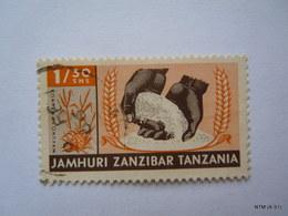 ZANZIBAR 1966, Jamhuri, Zanzibar, Tanzania, 1/30 Shs; Mavuno Ya M Punga. SG469, Used. - Zanzibar (1963-1968)