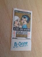 TIMBRE OU VIGNETTE ANNEE 1932 ANTI TUBERCULOSE DEPARTEMENT LOIRE-INFERIEURE + BI-OXYNE - Viñetas De Fantasía