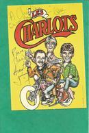 Les  CHARLOTS    Superbe Carte 1 Photo 10 X 15   Autographe Original De?????dédicace 1 FRAIS DE PORT OFFERTS - Schauspieler