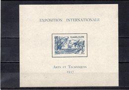 GUADALOUPE 1937 * - 1937 Exposition Internationale De Paris