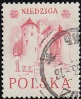 POLAND - Scott #556a Niedziga / Used Stamp - Gebraucht