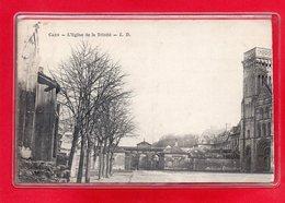 14-CPA CAEN - EGLISE DE LA TRINITE - Caen