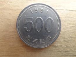Koree  Du Sud  500  Won  1991  Km 27 - Corée Du Sud