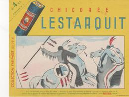 Buvard Chicorée LESTARQUIT N° 4 Collection Far West - Food