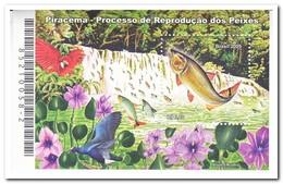 Brazilië 2005, Postfris MNH, Fish, Birds, Flowers, Waterfall - Ongebruikt