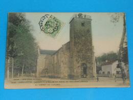 40 ) Labouheyre : N° 5580 - L'eglise Et Poste Du Veilleur Landais Au Sommet Du Clocher  -  Année 1907 - EDIT : Guillier - Other Municipalities