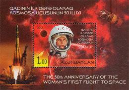Azerbaïjan 2013 Mih. 1007 (Bl.131) Space. Valentina Tereshkova MNH ** - Azerbaïjan