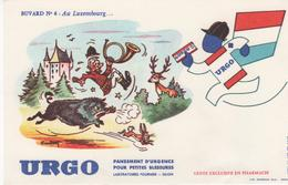 Buvard Pansement URGO N° 6 Au LUXEMBOURG - Chemist's