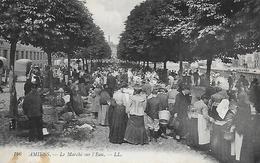 80)  AMIENS  - Le Marché Sur L' Eau - Amiens