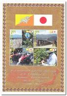 Bhutan 2011, Postfris MNH, Agriculture, Flowers, Bridge, Diplomatic Relations With Japan - Bhutan
