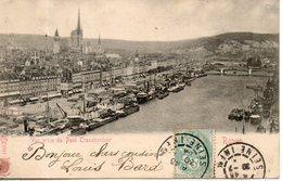 76. Rouen. Vue Prise Du Pont Transbordeur - Rouen
