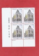 Coin Daté -2017 - YT N°5146 - Abbatiale De Saint Benoit Sur Loire - ** (MNH) - 2010-....