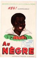 Buvard Au Nègre, Amidon, Cristaux, Javel, Colle à Froid. Tampon épicerie - Mercerie Blanchevoye à Fourmies. - Wash & Clean