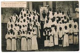 Missiën Der Paters Van Den H Geest, Eerste Heilige Communie In Mhonda, Oost Afrika (pk44300) - Cartes Postales