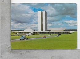 CARTOLINA VG BRASILE - BRASILIA - Aspecto Do Congresso - 10 X 15 - ANN. 1962 - Brasilia