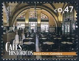 Portugal - Café De Santa Cruz 4185 (année 2016) Oblit. - 1910-... République