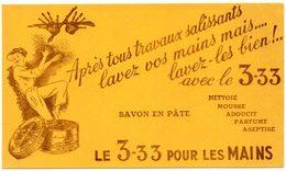 Buvard 3-33, Savon En Pâte Pour Les Mains. - Wash & Clean