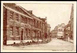 CP   Welkenraedt   ---   Rue De La Gare N° 8  --  1921  --  Dessin - Welkenraedt