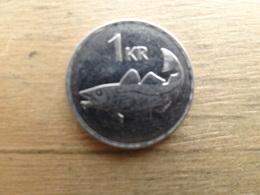 Islande  1  Krona  1992  Km 27 - Iceland