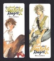 2 Marque Page.  Manga.   Kazé.  Mizu Sahara. - Marque-Pages