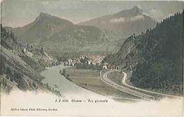 CLUSES (74) Vue Générale Du Village - Léger Pli En Haut à Gauche - Carte Postée - Cluses