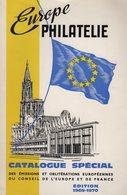 Catalogue Special Emissions Et Obliterations Conseil De L Europe - 120 Pages - Frais De Port 3.50€ - Philatélie Et Histoire Postale