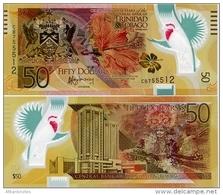 TRINIDAD & TOBAGO     50 Dollars    Comm.    P-54      2014      UNC - Trindad & Tobago