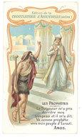 Chromo Aiguebelle - Les Prophètes ... Peuple D'Israël, Amos - Aiguebelle